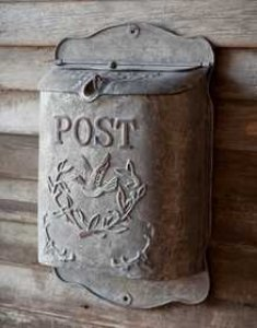 Mail Post Box by Park Hill