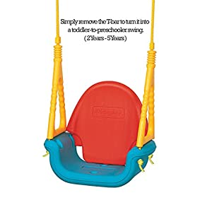 EDU-PLAY Baby Outdoor Swing Seat, 3-in-1 Perfect for infants, babies, toddlers - Safe and Secure