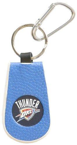 Team Color Keychain Basketball (Oklahoma City Thunder Team Color Basketball Keychain)