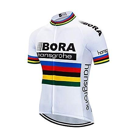 Jerseys per Uomo Corta Manica Tuta Estivo SUHINFE Maglia Ciclismo