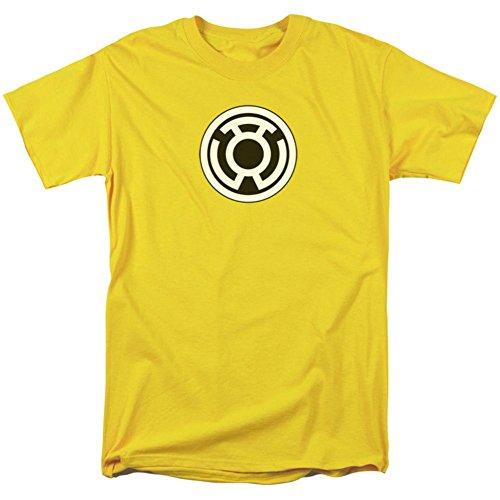 Green Lantern - Sinestro Corps Logo T-Shirt Size (Yellow Lantern T-shirt)