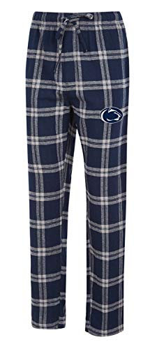 Concepts Sport Penn State University Men's Pajama Pants Plaid Pajama Bottoms (Large)