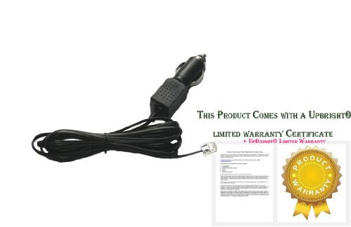 UpBright New 7FT Cable Car DC Adapter For BEL Beltronics Vector 995 V8 V995 Pro RX65 Radar Detector 12V DC Auto Vehicle Cigaratte Lighter Plug Power Supply Cord Battery Charger PSU