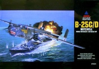 Accurate Miniatures B-25C/D Mitchell 1:48 Scale Kit by Accurate Miniatures