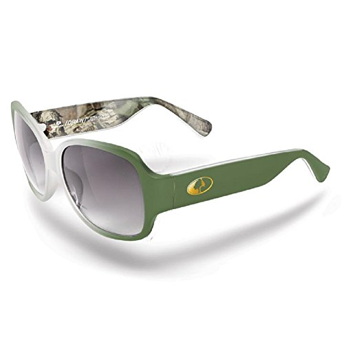 Mossy Oak Break-Up Infinity Camo Women's Wasatch Green-Camo Frame/Smoke-Lens Oval 58mm Sunglasses