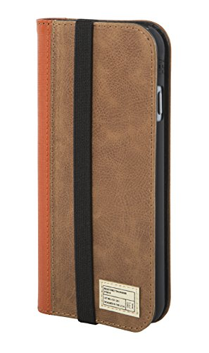 HEX Icon Wallet Case for iPhone 6 (Brown Leather) (Brown Iphone Case 6 Hex)