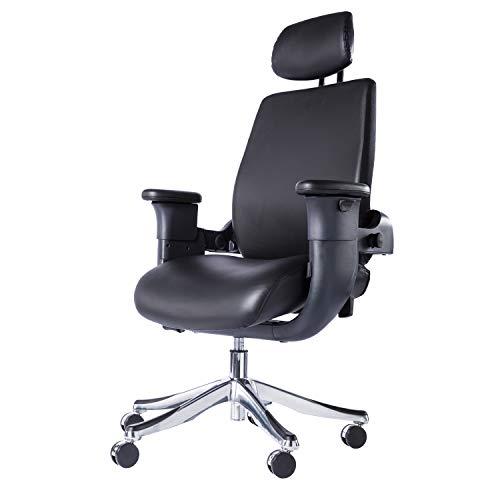 Eureka Ergonomic Chair - Executive Office Swing Chair - Black
