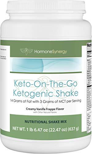 Ketogenic Shake | Keto-On-The-Go | Creamy Vanilla Frappe | 1