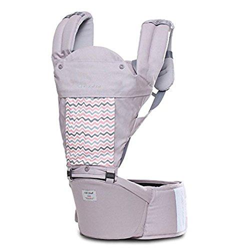 SINNAYEO - Stella Pure Organic Hip Seat Carrier (Aurora Gray) by SINNAYEO