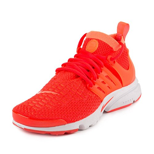 new arrival 6e225 e2a3a ... promo code nike womens air presto flyknit ultra bright mango bright  crimson running shoe 8.5 women