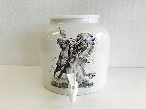Ceramic Water Dispenser- Last Man Standing