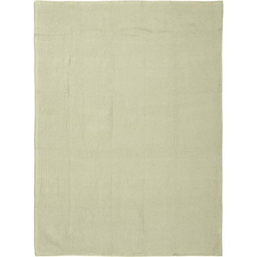 VHC Brands Farmhouse Bedding - Baby Green Blanket, 48