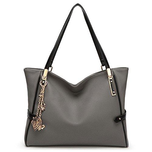 Simple Grey Bag Women's Travel Shoulder Fashion Bag Diagonal Bag Bag Tote 0fTwqC