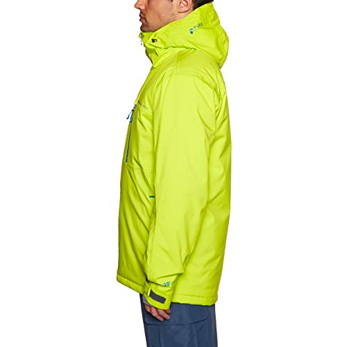 Blue Homme De 18 Lime Green Ski Clavin Veste Navy Protest f1wv7v