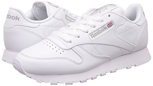 Reebok Classic Leather Zapatillas, Mujer Weiß (Int-White)