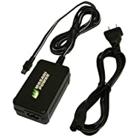 Wasabi Power AC Adapter for Sony AC-L200, AC-L200C, AC-L25, AC-L25A, AC-L25B, AC-L25C and Sony Handycam DCR-DVD7, DCR-DVD105, DCR-DVD108, DCR-DVD203, DCR-DVD205, DCR-DVD305, DCR-DVD308, DCR-HC20, DCR-HC21, DCR-HC26, DCR-HC28, DCR-HC30, DCR-HC32, DCR-HC36,