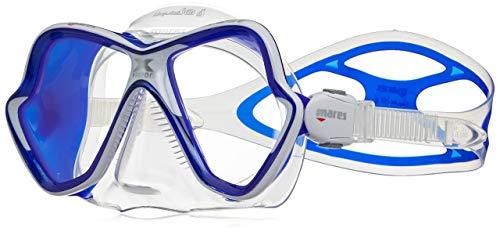 Mares X-Vision Ultra Liquid Skin Dive Mask, Clear/Blue (Certified Refurbished)