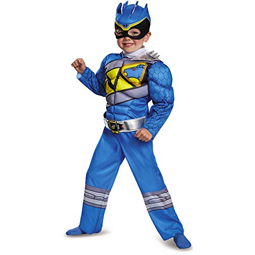 Blue Dino Charge Power Ranger Toddler 2T Costume (Blue Power Ranger Costume)
