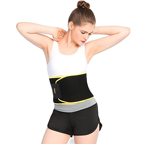 Yosoo Waist Trimmer Belt - Neoprene Waist Sweat...