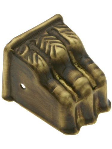 Small Size Brass Claw Foot Toe Cap In Antique-By-Hand Finish