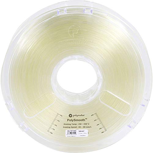 Polymaker PolySmooth 3D Printer Filament Layer-Free 3D Filament Transparent 1.75 mm Filament 750g 3D Printing Filament