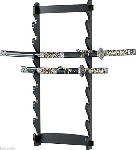 - Polar Bear's Decor New! 8 Tier Sword Wall Display Stand Rack only