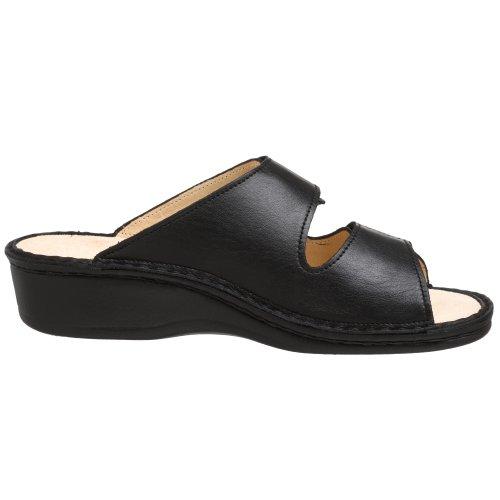 Finn Confort Femmes Jamaika Sandal Noir Nappa