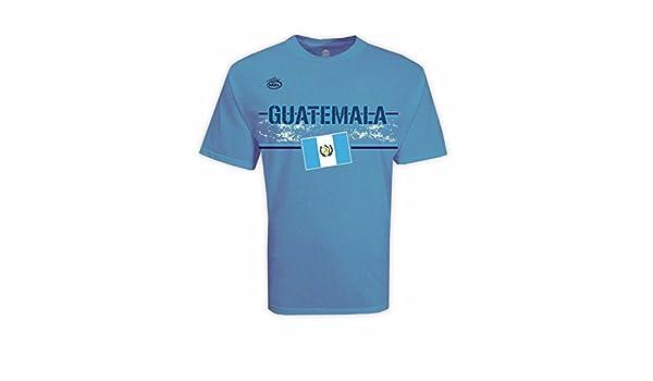9ed3ae64045bf Guatemala Men s T-shirt Lite Blue 100% Cotton at Amazon Men s Clothing store