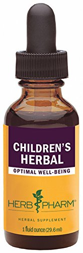 Herb Pharm Children's Herbal Formula with Lemon Balm and Chamomile - 1 Ounce - Kid Chamomile Extract Liquid