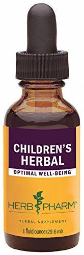 Herb Pharm Children's Herbal Formula with Lemon Balm and Chamomile - 1 (Kid Chamomile Extract Liquid)