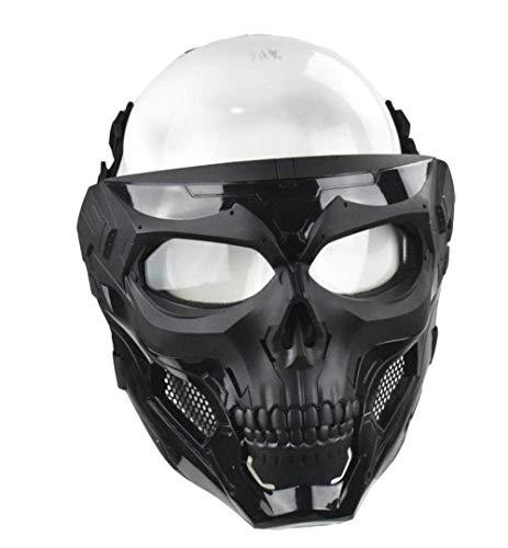 WLXW Masque Tactique Airsoft Et Casque de Paintball Rapide, Masque Intégral de Masque de Protection pour Masque de… 5