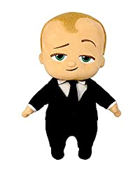 """Commonwealth Toy The Boss Baby 12"""" Talking Suit Plush"""