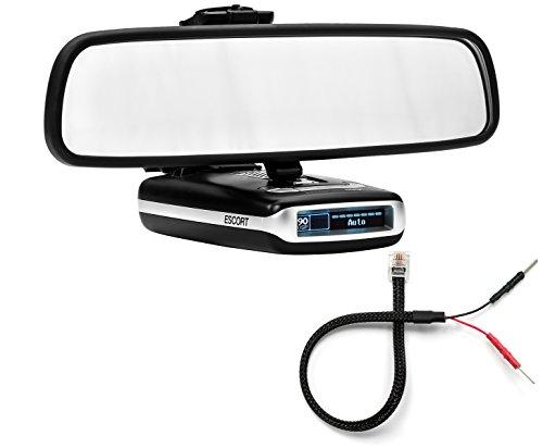 Radar Mount Mirror Mount Radar Detector Bracket + Mirror Wir