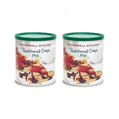 Stonewall Kitchen Traditional Crepe Mix - 16 Ounce - 2 pack ()