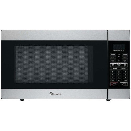 MAGIC CHEF MCD1811ST 1.8 CUBIC-FT 1100-WATT STAINLESS MICROWAVE WITH DIGITAL TOUCH by Magic Chef