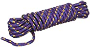 Attwood 11704-2 Braided Polypropylene Utility Line, 3/8-Inch Thick, 25 Feet Long, Multi-Color
