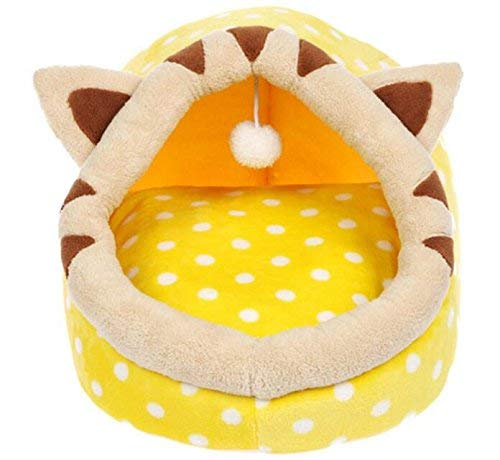 IANXI Home Cat Sleeping Bag Pet Bed Woven Mat Kennel Wasable Cat Products M per Cat /Dog