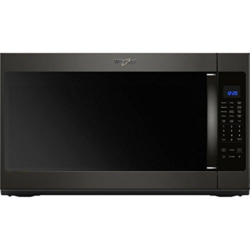 Whirlpool WMH53521HV 2.1 Cu. Ft. Black Stainless Over-the-Ra