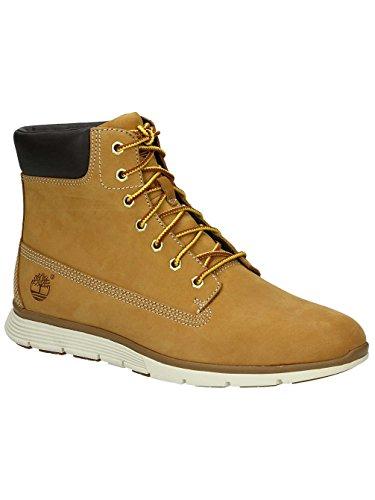 trigo TIMBERLAND A17M9 las mujeres amarillas amarillo zapatos botas de cuero impermeables Wheat Nubuck