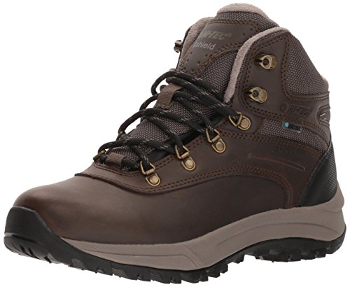 Hi Tec Waterproof Heels - Hi-Tec Women's Altitude VI I Waterproof Hiking Boot, Dark Chocolate/Black, 085M Medium US