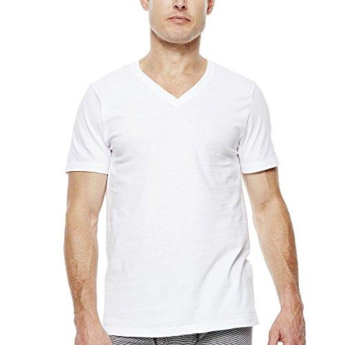 Jockey 3-pk. Classics V-Neck T-Shirts + Bonus Tee