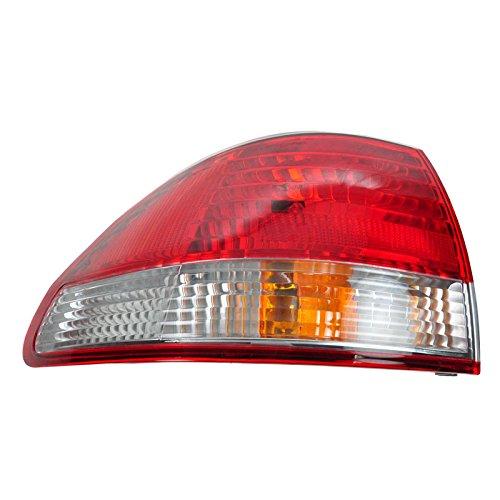 Taillight Taillamp Brake Light Lamp Left Side Rear for 01-02 Honda Accord Sedan