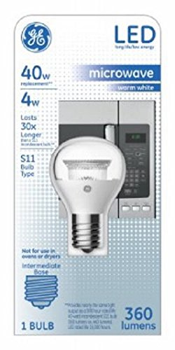 (G E LIGHTING 29043 4W Frosted S11 Inter)