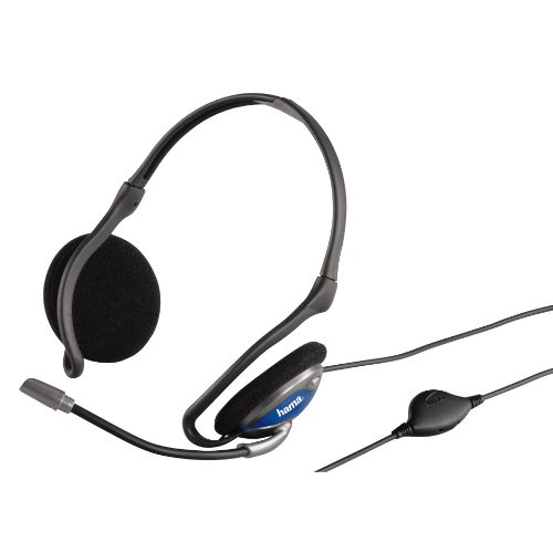 🥇 Hama – CS-498 – Auriculares estéreo con micrófono
