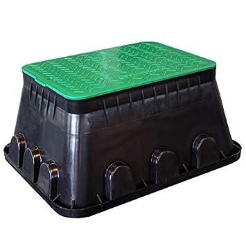 Ventilbox Xl Bodeneinbaudose Groß Verteilerdose Gartenelektrik Box