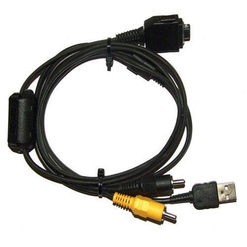 (VMC-MD1 USB AV Cable For Sony DSC-W120 DSC-W130 DSC-H7 DSC-T10 DSC-T200)