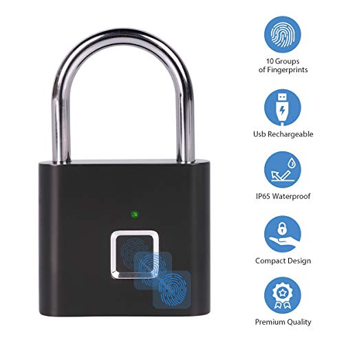 Fingerprint Padlock One Touch