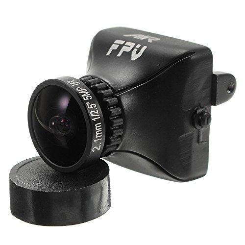 LaDicha AirFPV 1/3 CCD 700TVL 2.5 mm/2,1 mm FOV 135/150 Grad IR Sensitive FPV Kamera Build im OSD PAL NTSC - 2,1 mm