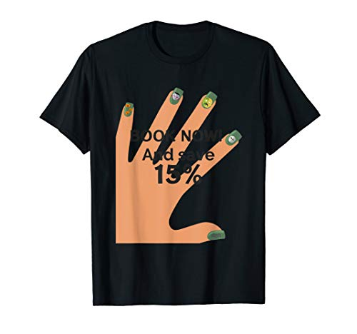 Halloween nails  T-Shirt]()