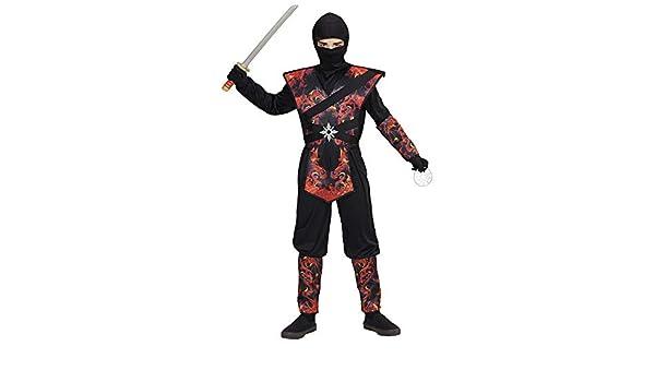 WIDMANN Disfraz de ninja para niños: Amazon.es: Juguetes y juegos